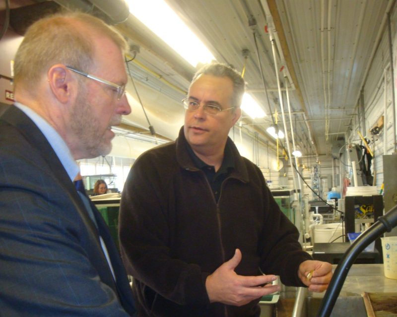 Congressman Morgan Griffith tours FMCC
