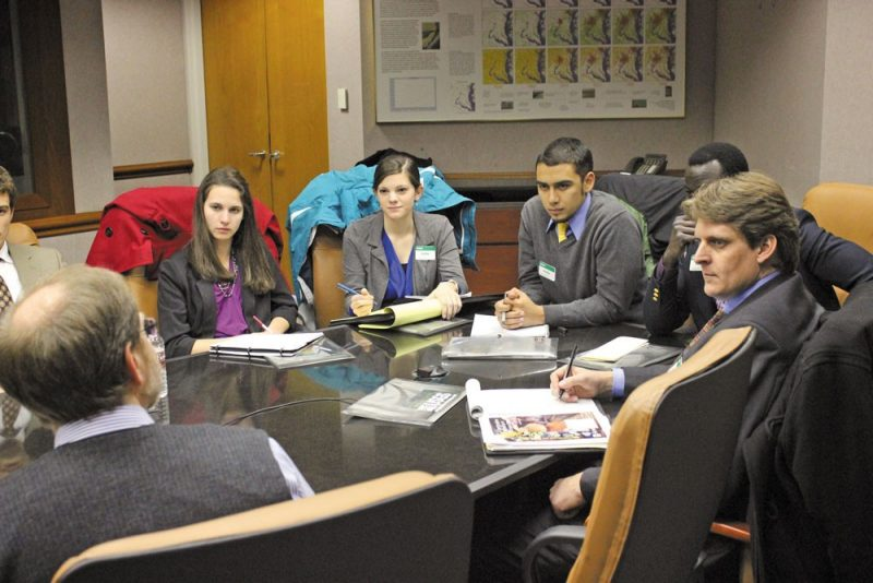 College's signature program trains future leaders