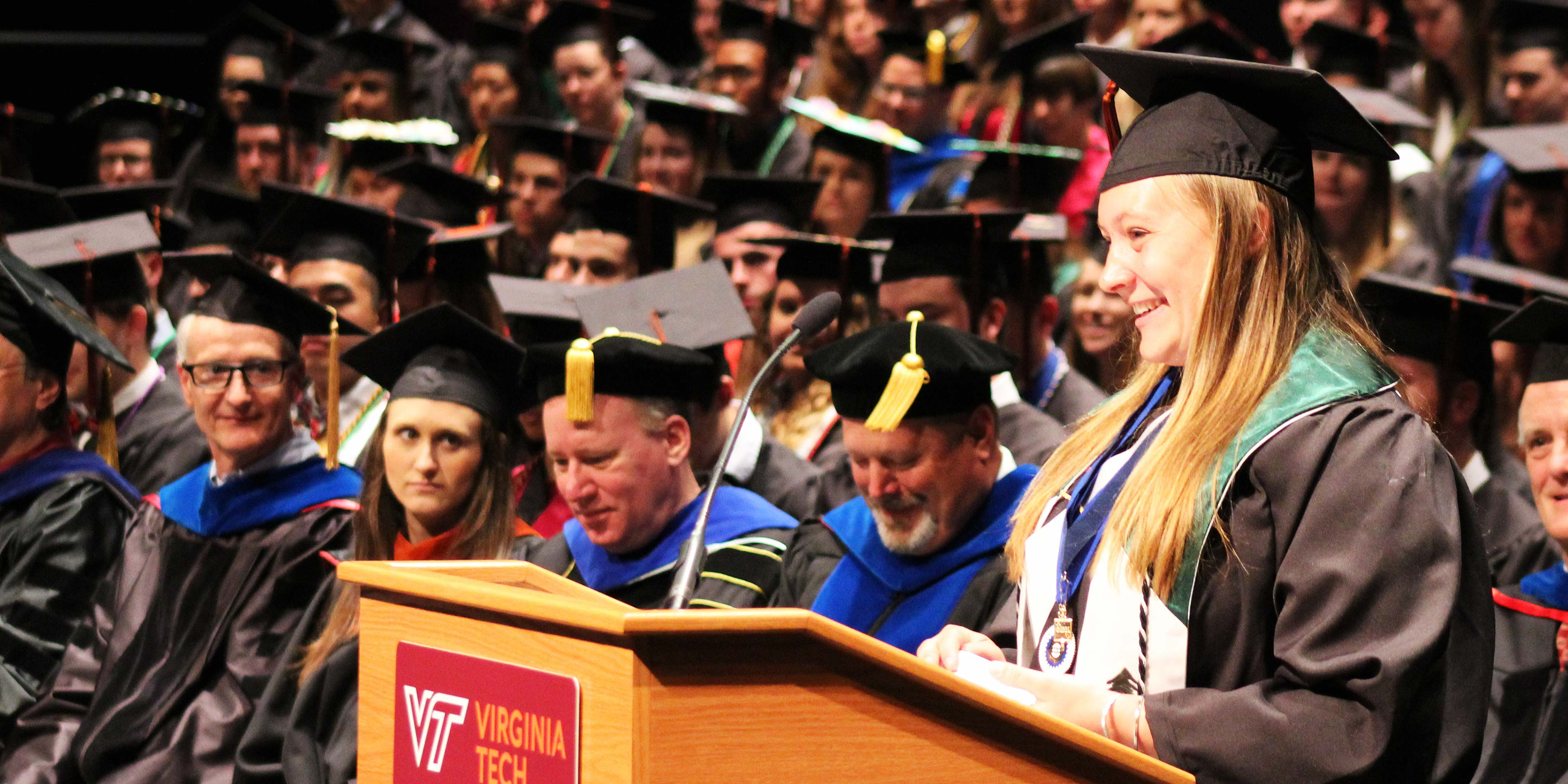 Virginia Tech Graduation 2020.Commencement College Of Natural Resources And Environment