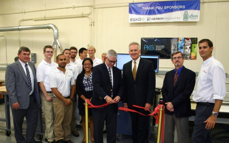 Ribbon Cutting Esko-Graphics